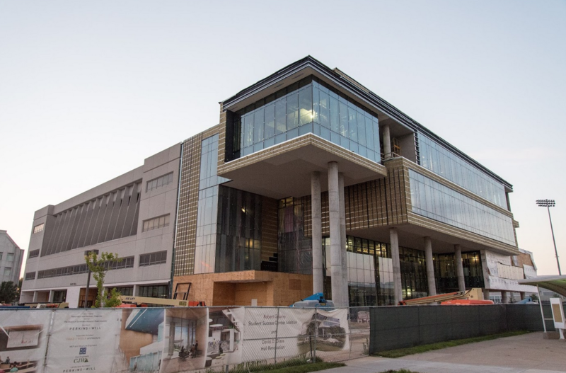 Glass Hall is expected to be ready by the fall.