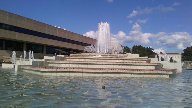 John Q. Hammons Fountains at MSU