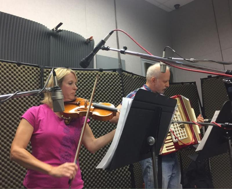 Ozarks Klezmer Orkestr on Studio Live