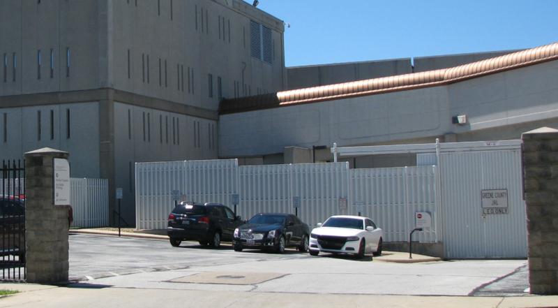 Temporary jail facility