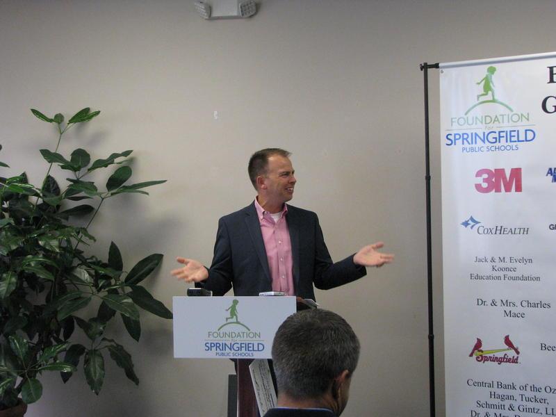 SPS Superintendent Dr. John Jungmann Speaks at the Foundation for SPS