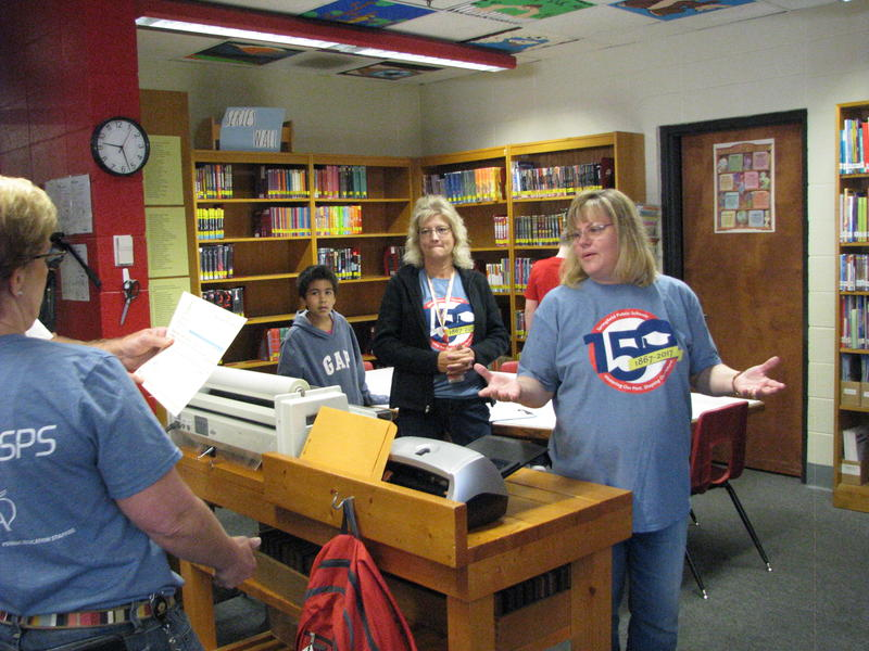Tammy West Receives a Back to School Grant