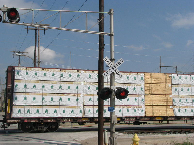 Railroad Crossing on N. Main in Downtown Springfield