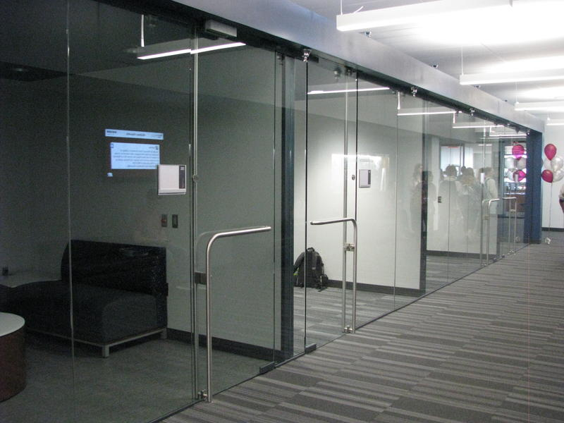 Corporate Interview Rooms at The Robert Gourley Student Success Center at MSU