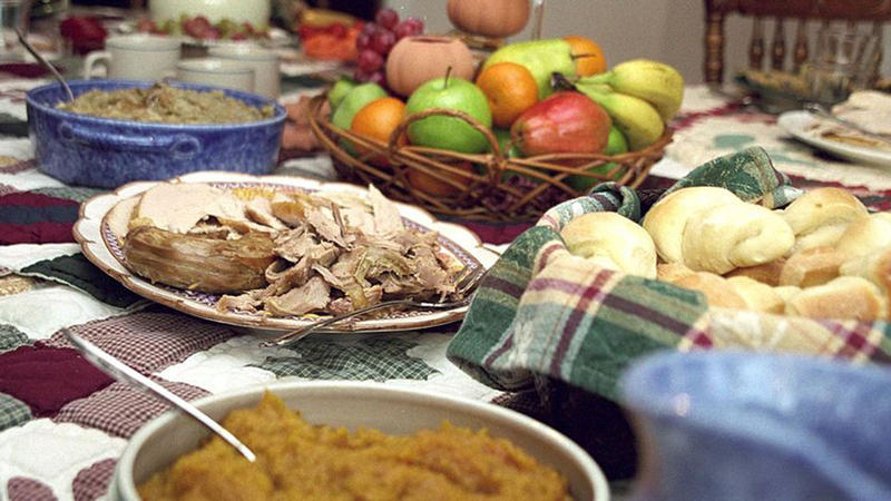 Thanksgiving feast