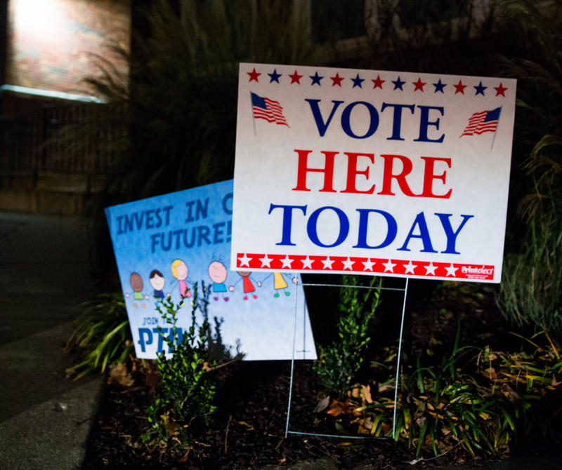Roundtree Elementary School was one of many voting locations on election day in Springfield on Nov. 7.