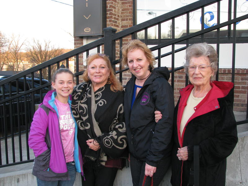 Addison Smith, Kathy Bumgarner, Jane Vest, Marge Shelton Attend the Branson Adoration Parade