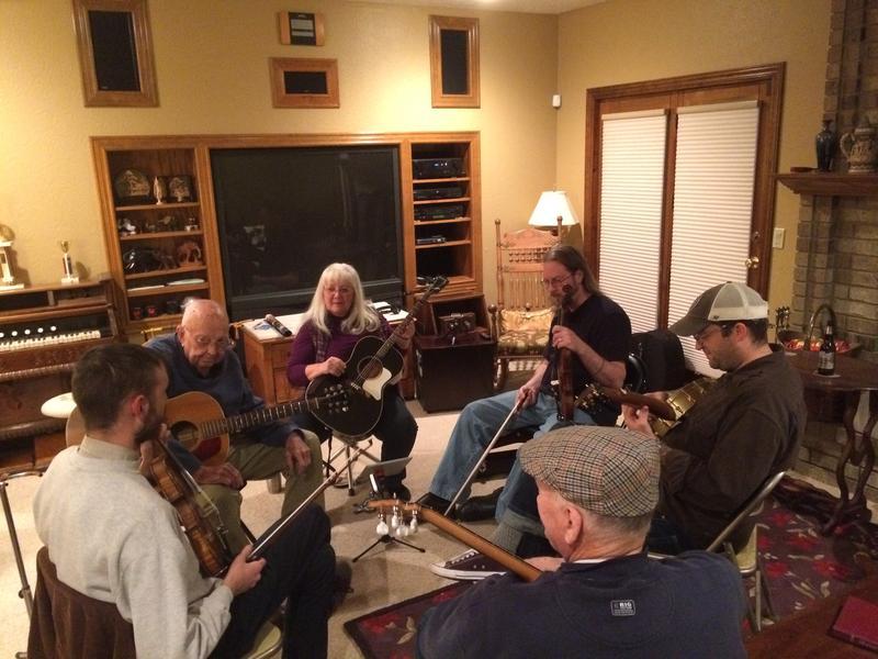 A December 6th Music Party at Gordon McCann's Home