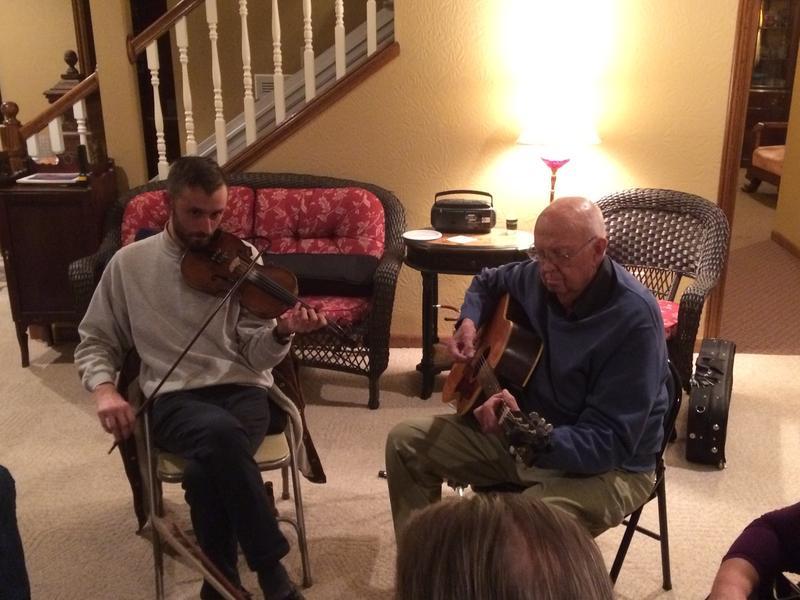 Luke Cormier is the Great-Grandson of Renown Missouri Fiddler Art Galbraith, A longtime Musical Partner of Gordon McCann