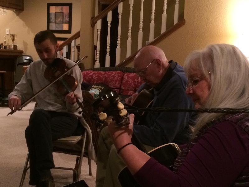 Luke Cormier, Gordon McCann, and Lynn Scott