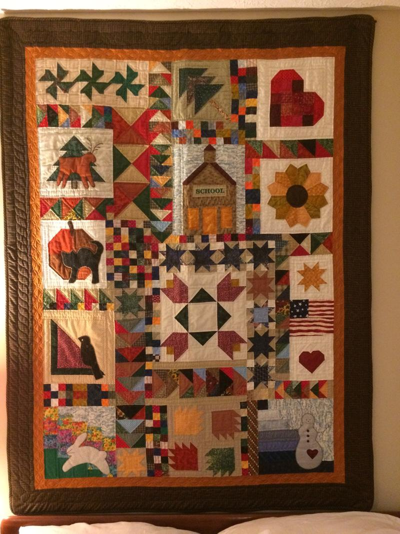 Mona McCann Made This Quilt With The Seasons In Mind