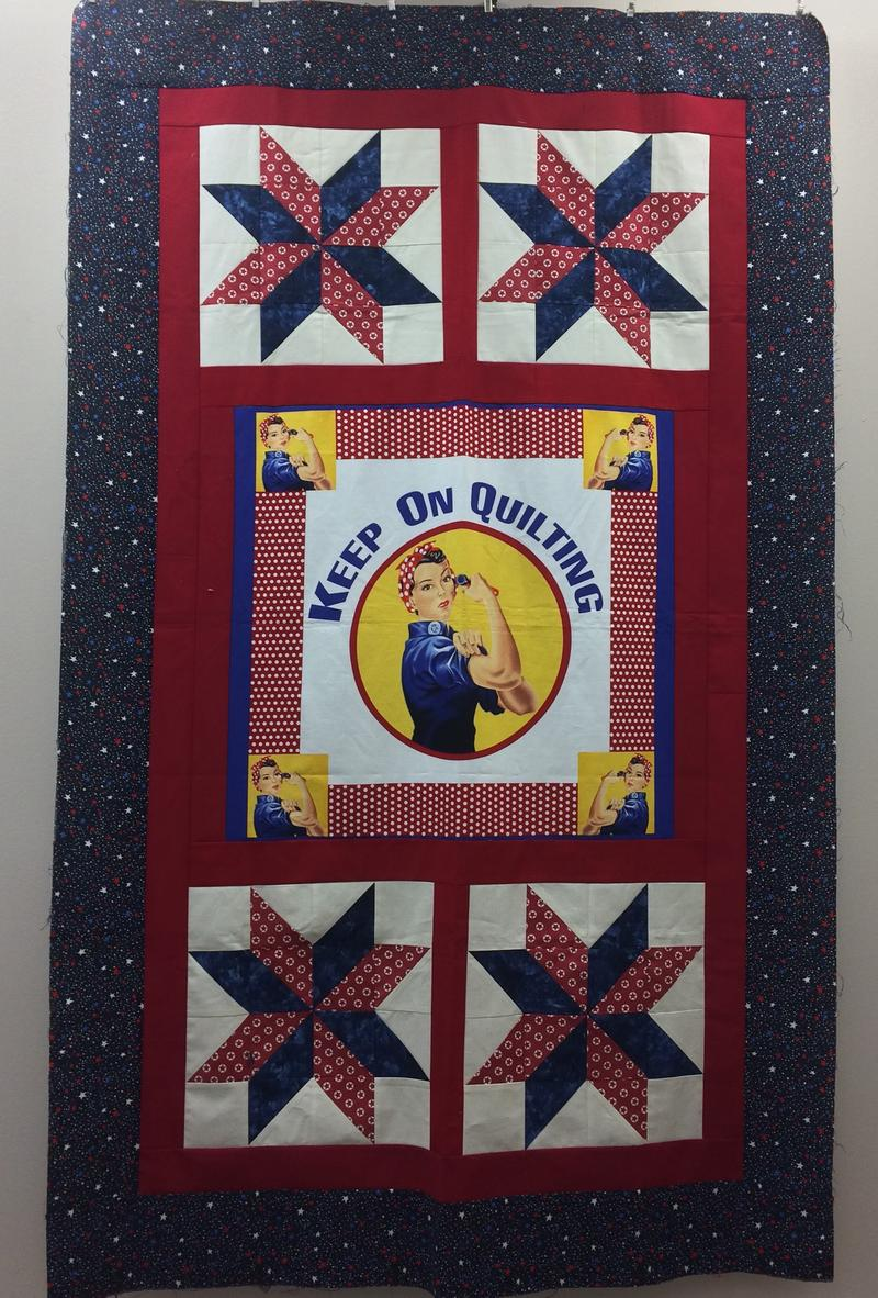 Rosie is Remembered at the Ozark Piecemakers Quilt Guild