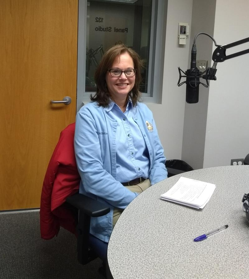 Linda Chorice-Manager of Springfield Conservation Nature Center
