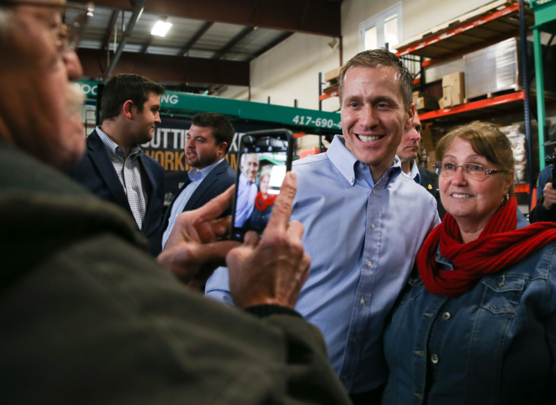 Governor Greitens Greets Constituents in Springfield