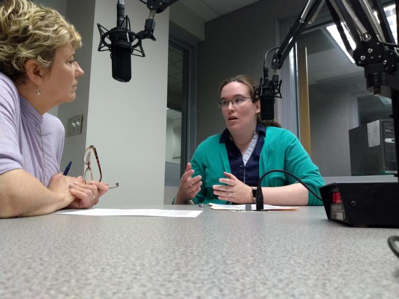 Host Lisa Langley speaks with Leslie Forrester-Springfield Regional Arts Council