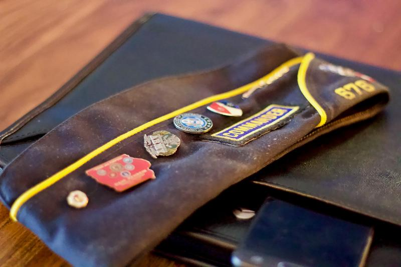 American Legion Post 676 Commander's Cap