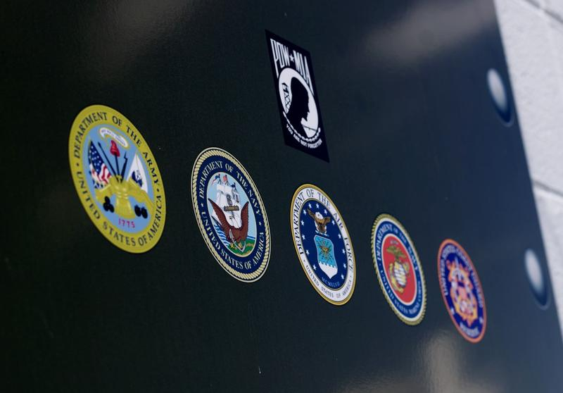 Military Service Insignias Welcome Veterans to American Legion Posts 676 and 1214