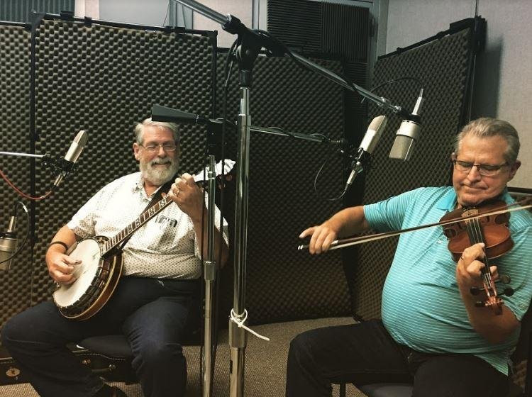 Fiddle and Banjo on Studio Live