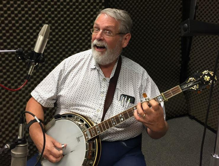 Roger Matthews of Fiddle and Banjo on Studio Live