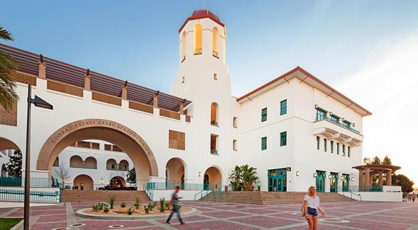 San Diego State Uninversity where Professor Peter Salamon teaches mathematics.