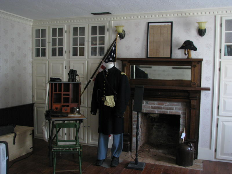 Inside the Ritchey Mansion