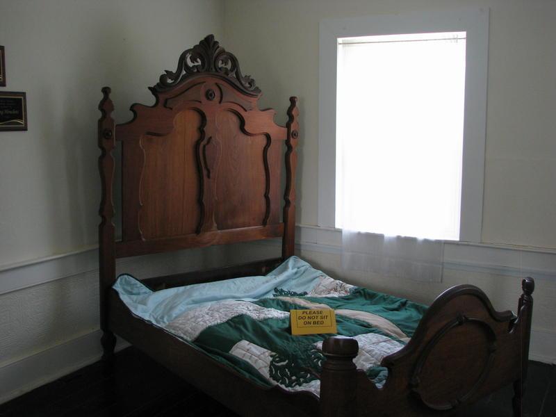 Bed that Belonged to Matthew E. Ritchey