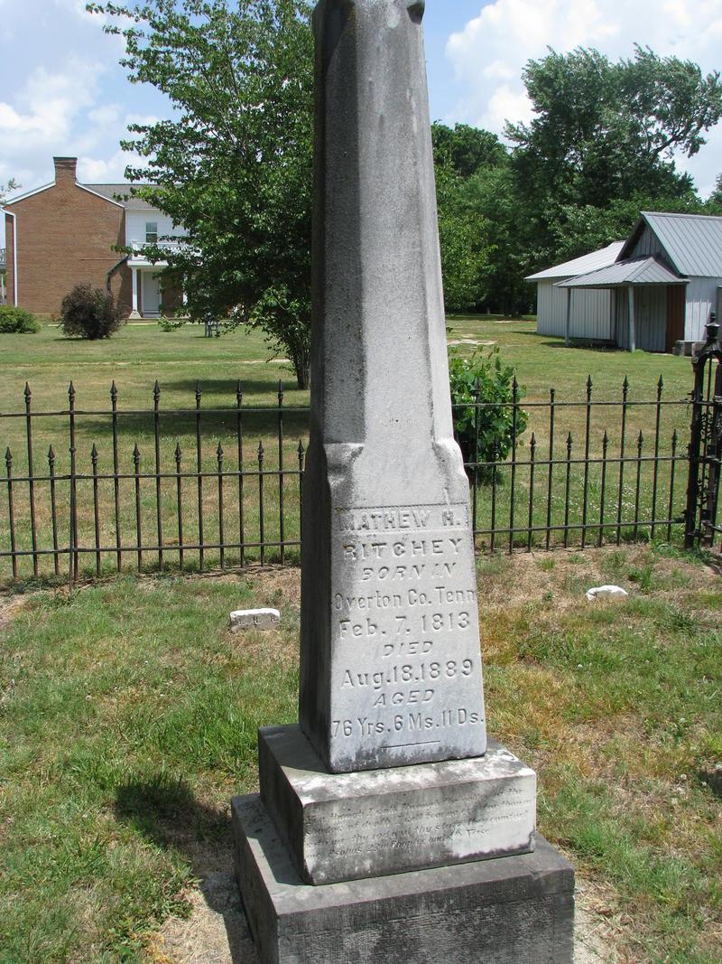 Matthew Ritchey's Tombstone