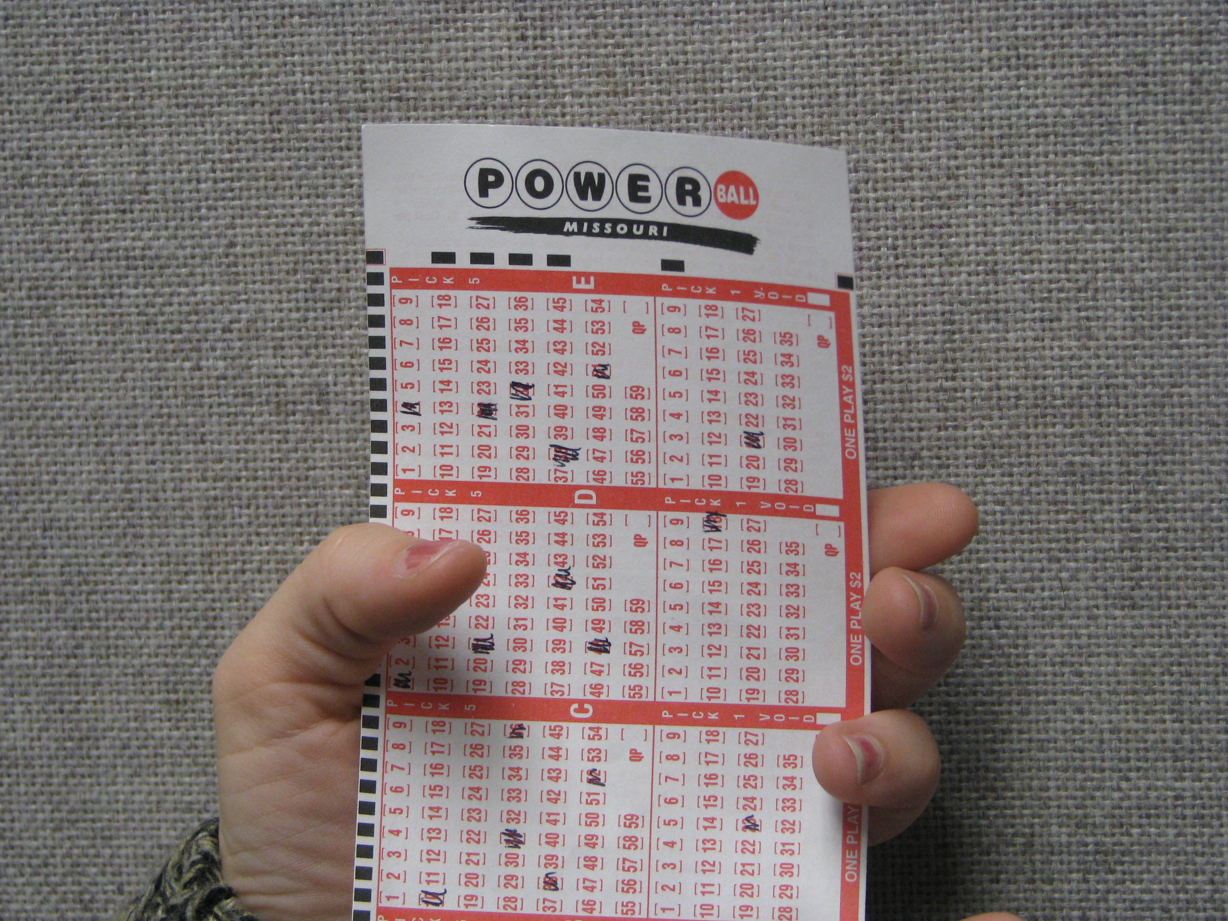 Mo lottery powerball prizes payouts