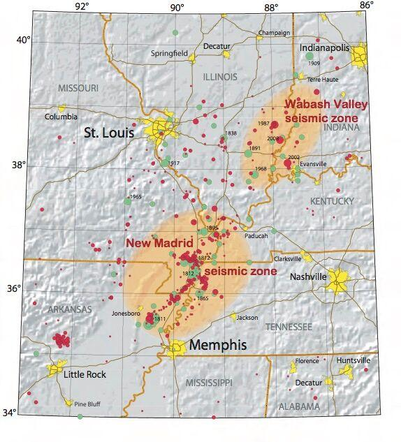 the new madrid earthquake drastically changed the life of many The new madrid earthquake that will divide the in the event of a major new madrid earthquake but the loss of life was minimal: not too many people.