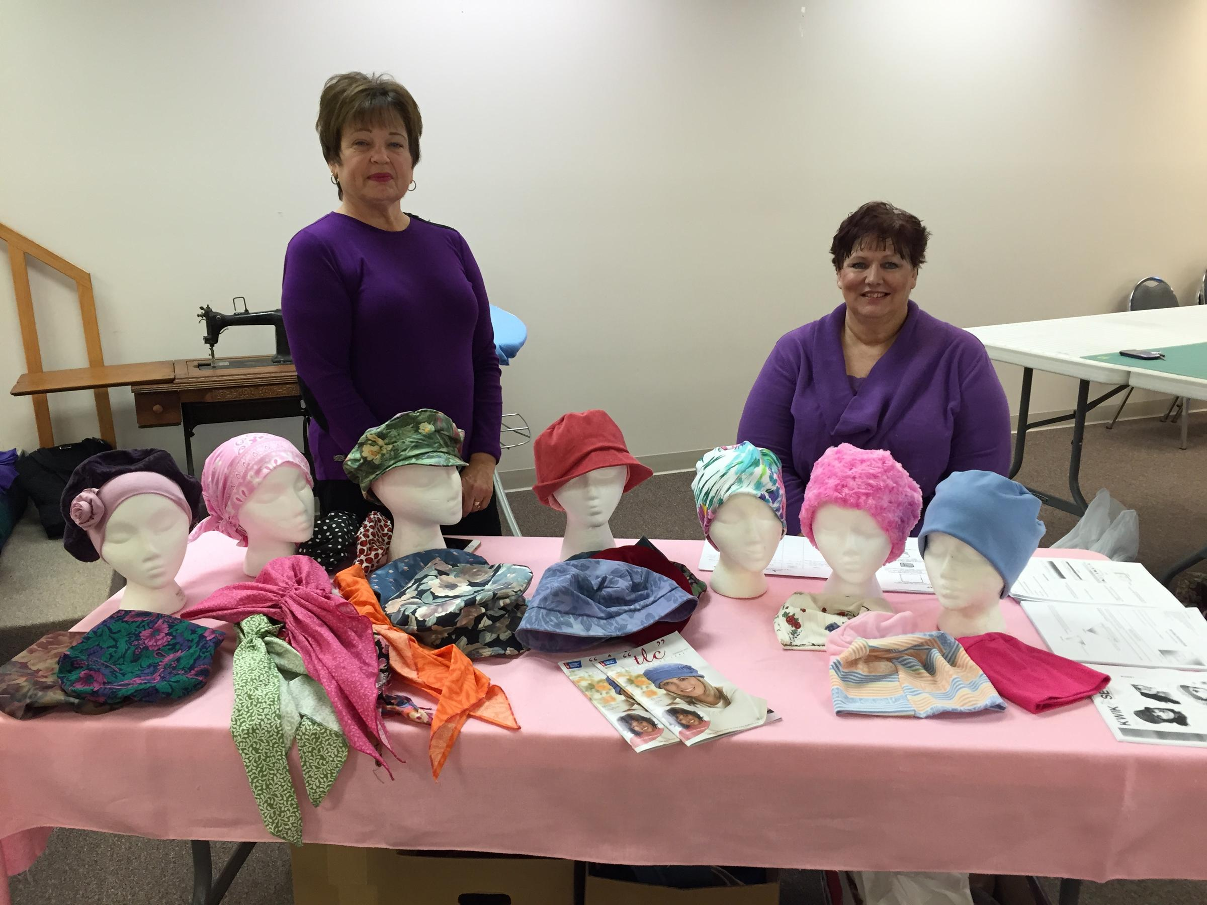 Not Just Any Hat Ozark Piecemakers Quilt Guild Sews Headwear For