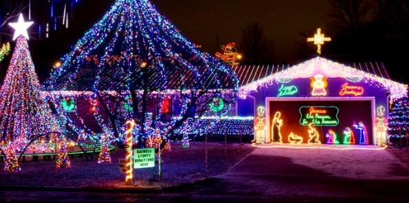 christmas twinkle light displays in the ozarks