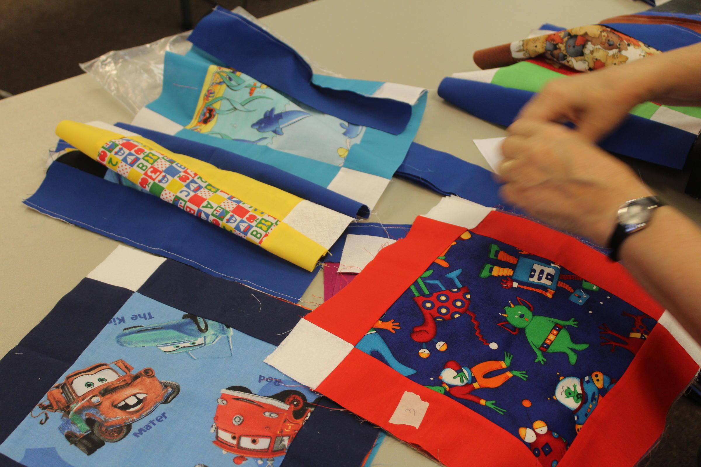 Handmade Quilts Help Comfort Kids Ksmu Radio