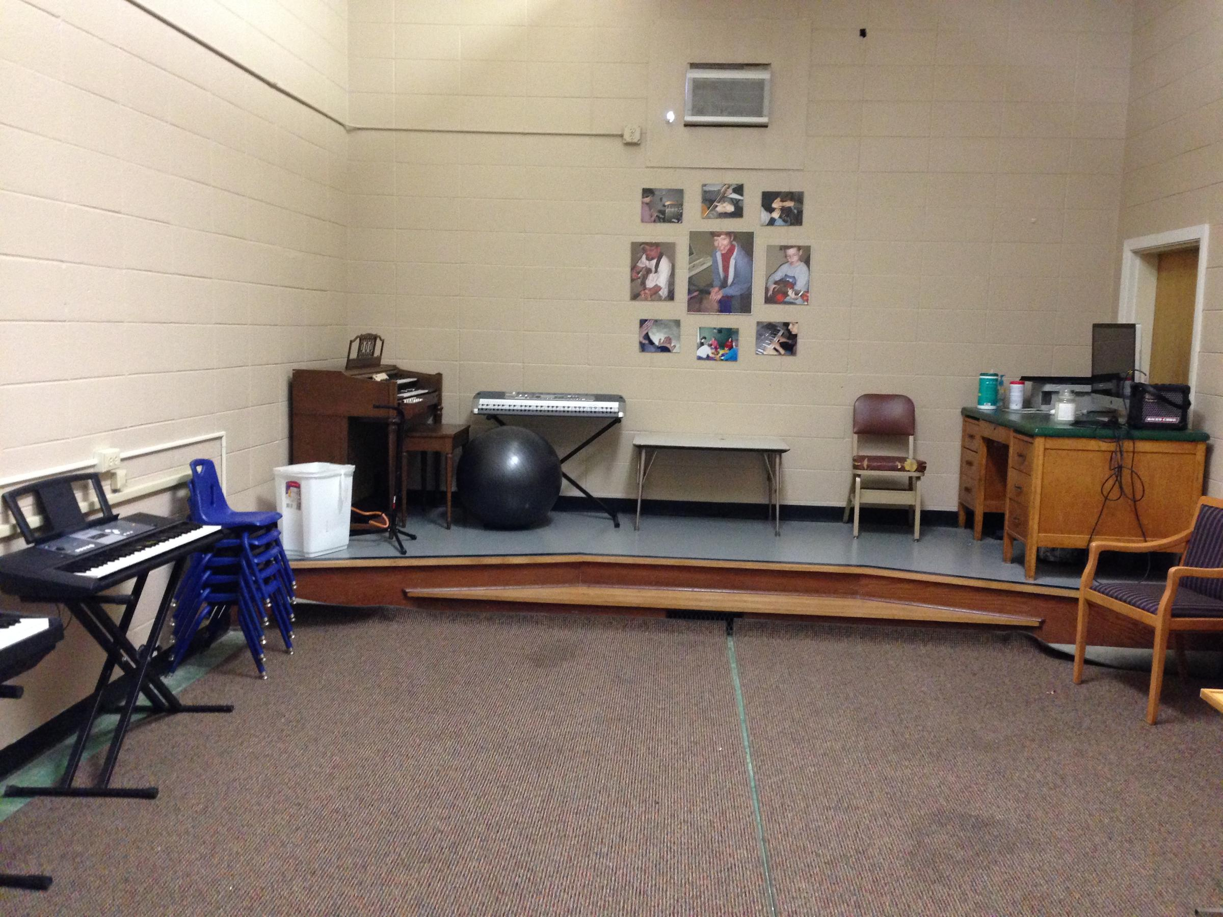 One Of The Therapy Rooms At Drurys Center For Music And Wellness