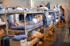 California state prison overcrowding, 2006