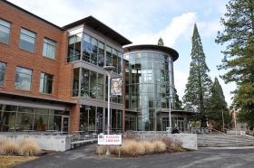 Southern Oregon University's Hannon Library.
