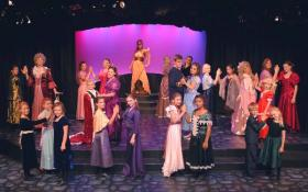 "Camelot Theatre (in Talent) conservatory students perform ""Cinderella."""