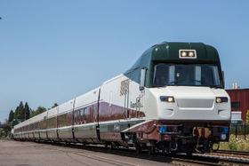 Talgo train designed for Oregon.