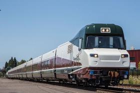 Talgo train designed for Oregon.