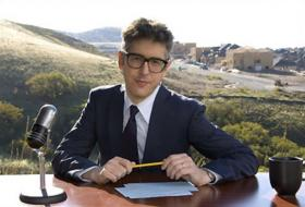 This American Life host Ira Glass.  The show can now be heard Sundays at 10am on the Rhythm & News Service, and Sundays at 5pm on the News & Information Service.