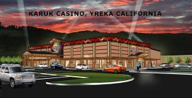 The Karuk casino concept envisioned for Yreka.