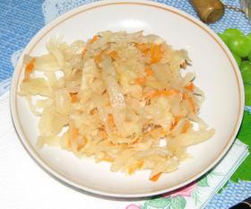 Sauerkraut, Russian style.