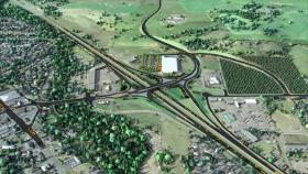 The proposed Phoenix interchange.