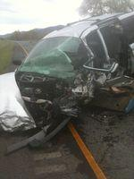 The 2003 Dodge Grand Caravan driven by Richard Webster Scott that caused the fatal accident on I-5 last night.