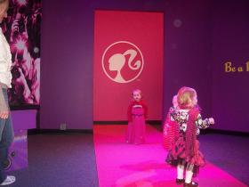 The Barbie Runway at the Children's Museum of Indianapolis.