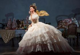 Marina Rebeka stars as Violetta in Verdi's La Traviata on June 7th