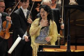 Pianist Mitsuko Uchida Performs Beethoven's 4th Piano Concerto May 23rd with the Bavarian Radio Symphony Orchestra