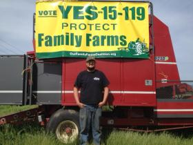 Rogue Valley farmer Jared Watters supported Measure 15-119. The  ban on growing GMO crops passed with 67 percent of the vote.