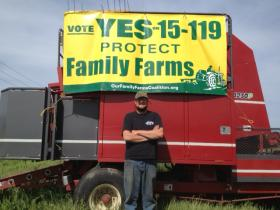 Jared Watters farms over 1,100 acres in plots across Rogue Valley.