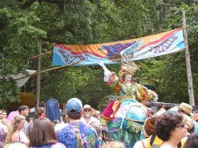 The Oregon Country Fair in 2005.