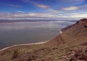 Lake Abert in 2010.
